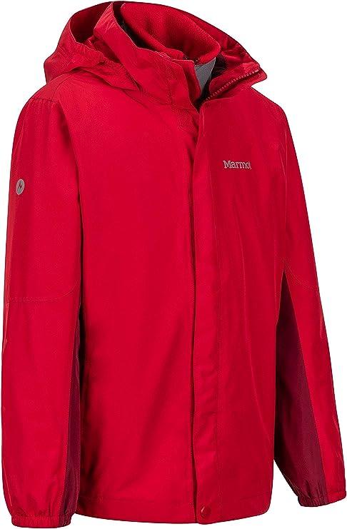 Marmot 土拨鼠 Northshore 3合1防水保暖 男童冲锋衣 4.1折$59.8 海淘转运到手约¥476