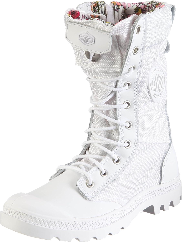 Palladium Unisex Pampa Hi Lite Am Schuhe Wht Turchse Mrshmllw Weiß Größe EU 36