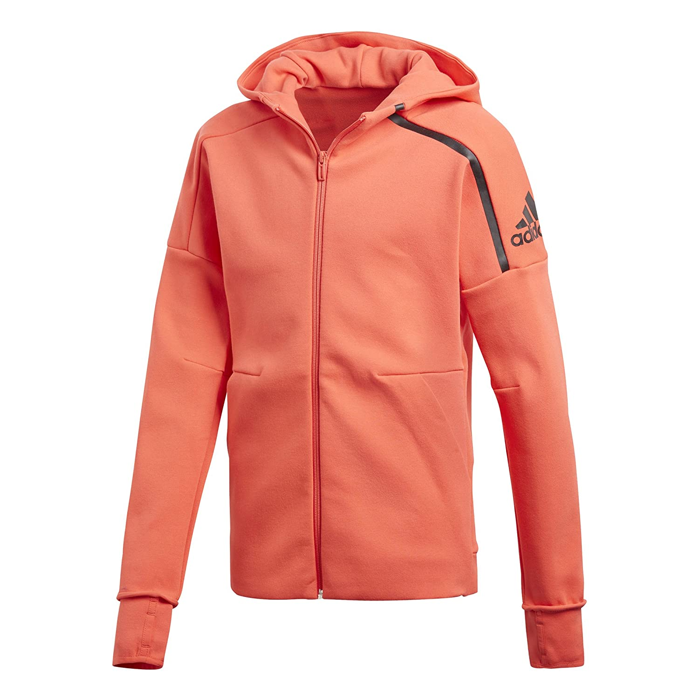 adidas Girls z.n.e. 2.0Hoodie Hooded Jacket, Girls CF6684