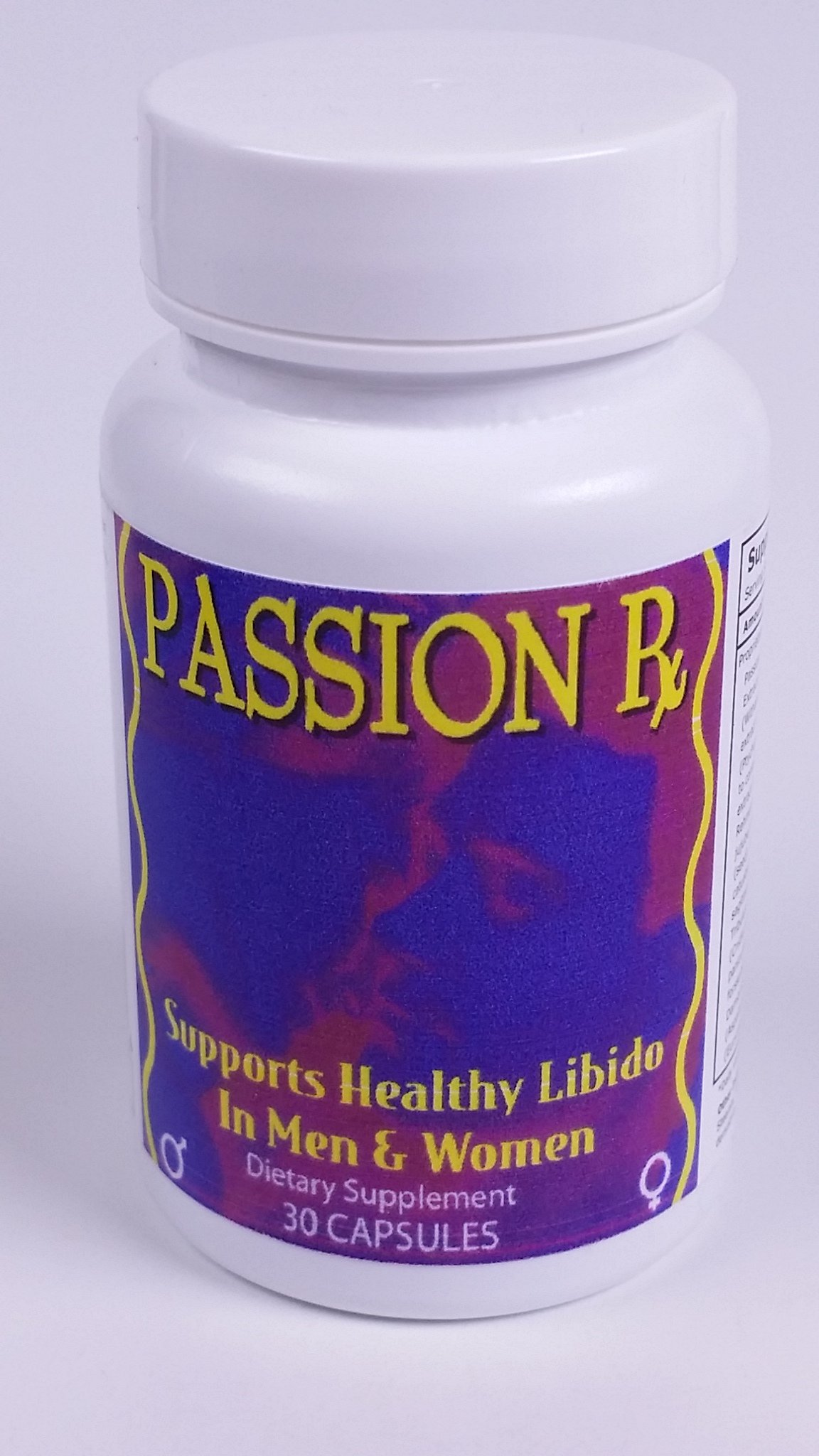 Passion Rx, 30 Capsules without Yohimbe, Formulated by Ray Sahelan, MD
