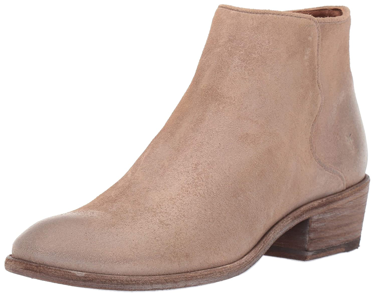 Beige Multi Frye Womens Carson Piping Bootie Ankle Boot
