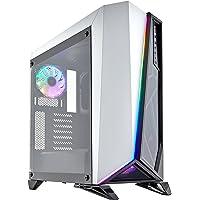 Corsair Carbide Spec-Omega RGB Midi-Tower Negro, Blanco - Caja de Ordenador (Midi-Tower, PC, Acero, Vidrio Templado, Negro, Blanco, ATX,Micro ATX,Mini-ITX, Juego)