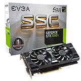 EVGA NVIDIA GeForce GTX 1050ti SSC Gaming ACX 4GB GDDR5128Bit Speicher PCI-Express 3DVI/HDMI/DP Grafikkarte–Schwarz