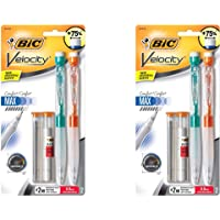 BIC Velocity Max Mechanical Pencil, Thick Point (0.9mm), 2-Count, 2 Pack