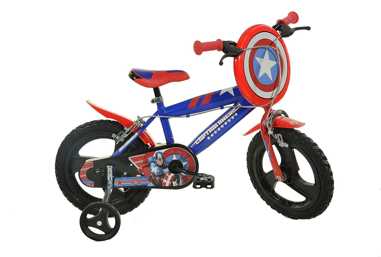 Dino Bikes 414U-CA 36cm Bikes Captain Dino America Bicycle 36cm B01E7MUGR8, きものまるとも:a06c66ce --- b-band.club