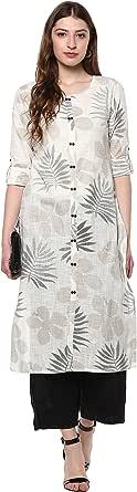 Janasya Indian Tunic Tops Cotton Kurti Women