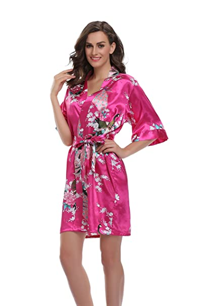 97c0e39065 Sunnyhu Women s Kimono Robe