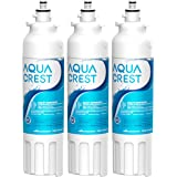AQUA CREST ADQ73613401 Refrigerator Water Filter, Replacement for LG LT800P, ADQ73613402, ADQ73613408, ADQ75795104, Kenmore 9