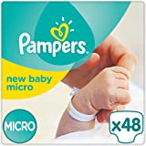 Pampers - New Baby - Couches Taille 0 (1-2,5 kg) - Pack Small (lot de 2x24 couches)