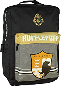 Harry Potter Hufflepuff Backpack Hogwarts Houses Travel Book Bag Laptop Backpack