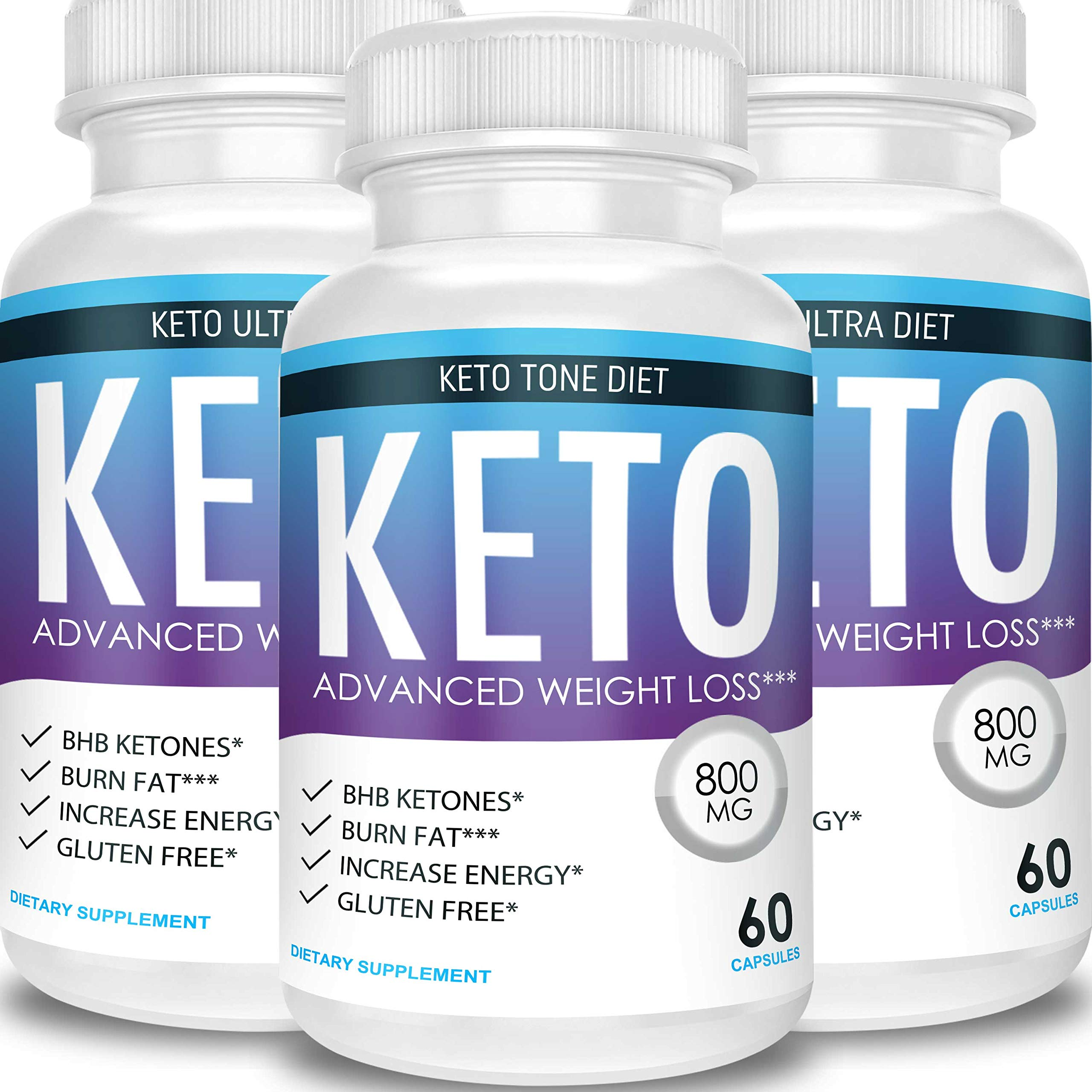 Keto Tone Diet - Advanced Weight Loss - Ketosis Supplement (3 Month Supply) by Keto Tone Diet