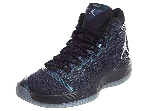 e2290c50b7d7de Jordan Nike Melo M13 Purple Dynasty Metallic Silver 881562-505 Purple  Dynasty Metallic Silver