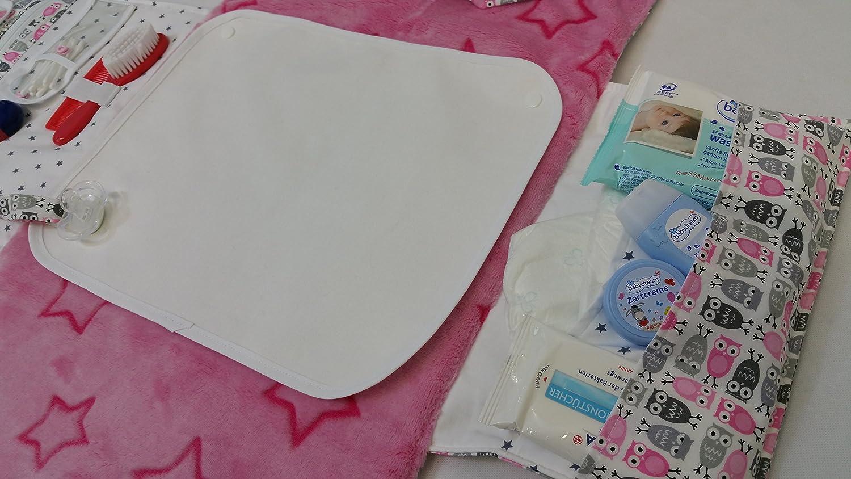 Atelier miamia Bolsa para pañales pañales para viajes con cambiador cambiador Edición Limitada. individualisierbar Talla:Standart: Amazon.es: Bebé