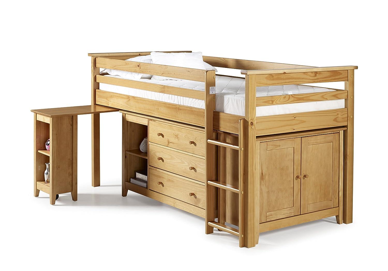 Birlea Cotswold 3ft Single Midi Sleep Station Pine Amazon.co.uk Kitchen u0026 Home  sc 1 st  Amazon UK & Birlea Cotswold 3ft Single Midi Sleep Station Pine: Amazon.co.uk ...