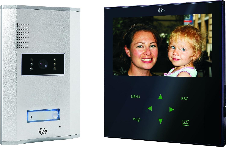 Elro VD71W Video - Tü rsprechanlage mit flachem Touchscreen-Panel, weiß