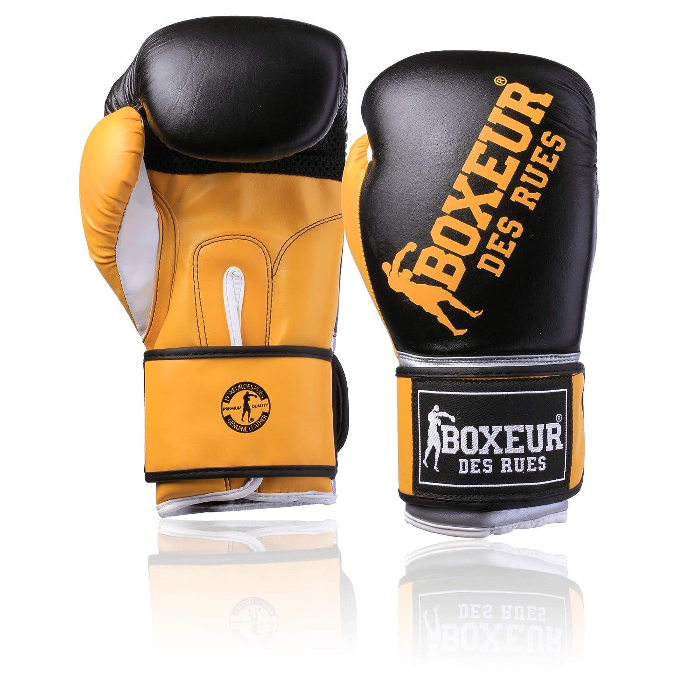 BOXEUR DES RUES Fight Activewear Guante de Boxeo con Logotipo de Impacto