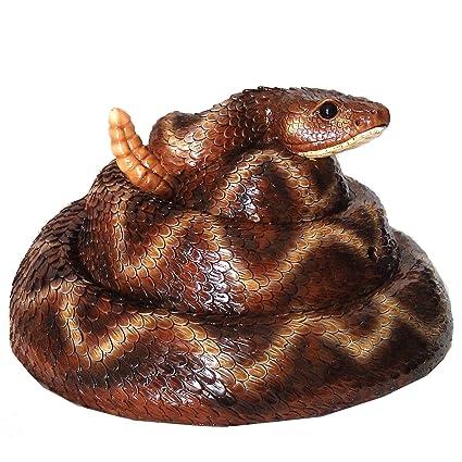 Amazon com: Michael Carr Designs 80073 Rattler Snake Resin