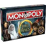 Señor de los anillos Monopolio juego de tablero