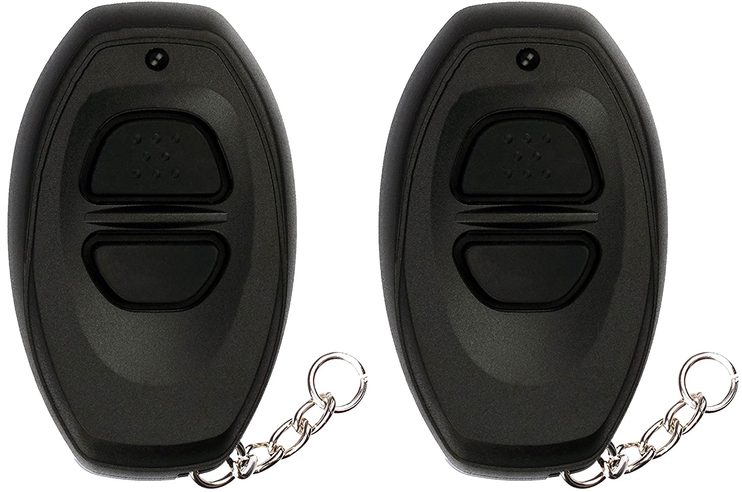 KeylessOption Keyless Entry Remote Control Car Key Fob Replacement for Toyota RS3000 BAB237131-022 Pack of 2