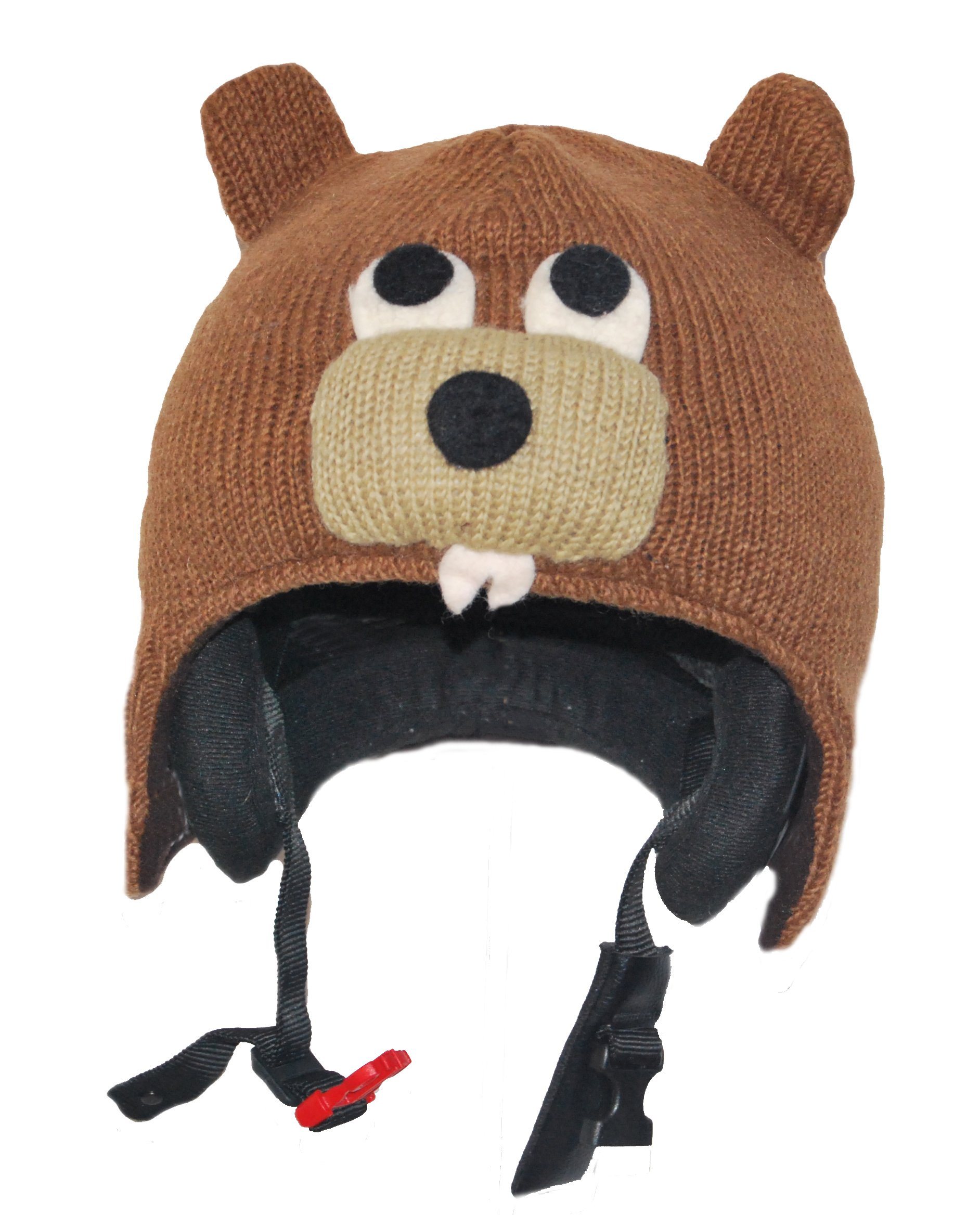 Ski Helmet Cover Beaver - 15 different animals available by Pink Yak