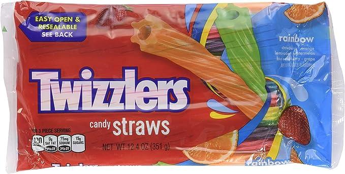 Twizzler Rainbow Candy Twists, 12.4-Ounce(Pack of 2): Amazon.es: Alimentación y bebidas