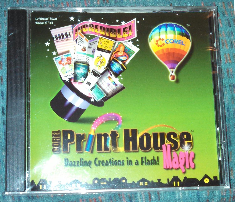 Amazon Corel Print House Magic