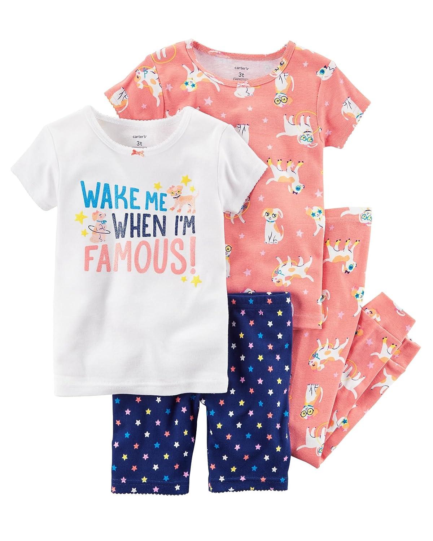 Carter's Girls' 4-Piece Pajama Set Carter' s P000498295