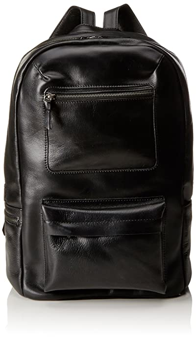 Affinity Caviar, Unisex Adults Backpack, Schwarz (Black), 13x39x28 cm (B x H T) Royal Republiq