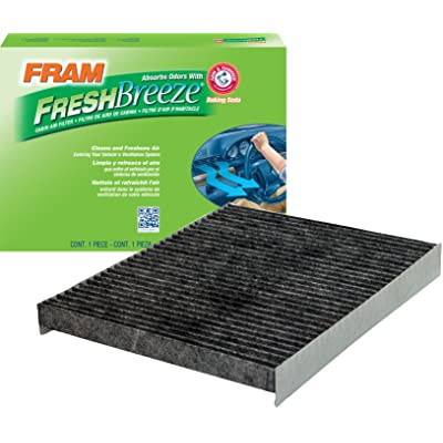 FRAM CF11664 Fresh Breeze Cabin Air Filter with Arm & Hammer: Automotive