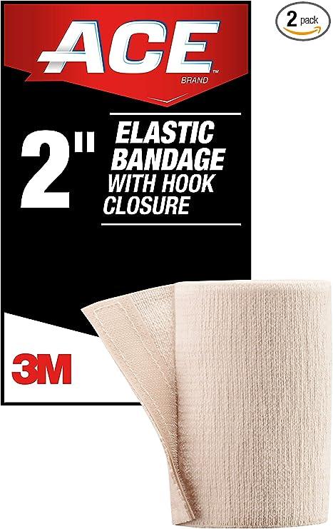 Amazon Com Ace 2 Inch Elastic Bandage With Hook Closure Beige