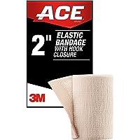 """ACE 2"""" Elastic Bandage Wrap with Hook Closure, Beige"""