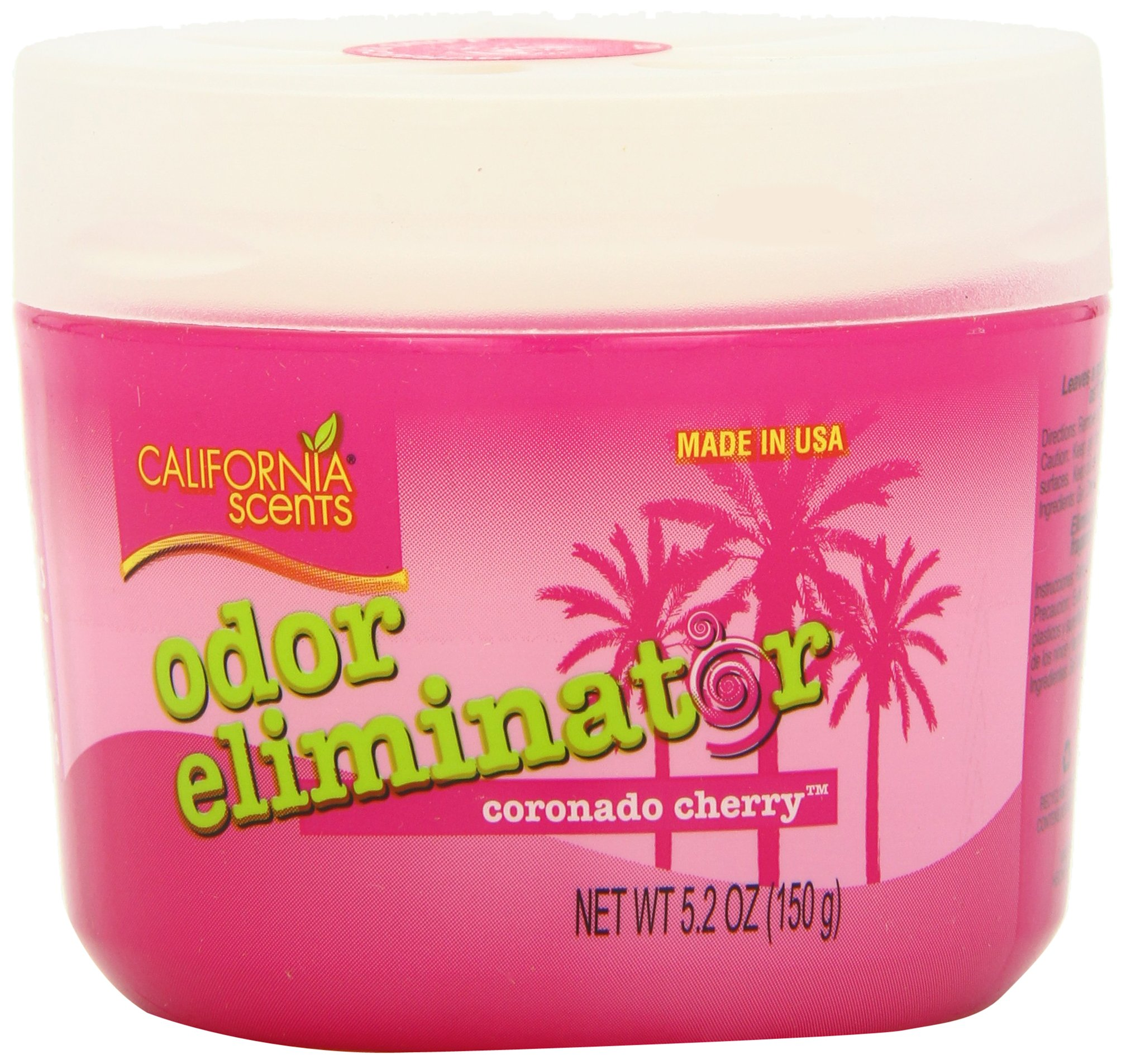 California Scents Odor Eliminator, Coronado Cherry, 5.2-Ounce Jars (Pack of 12) by California Scents (Image #2)