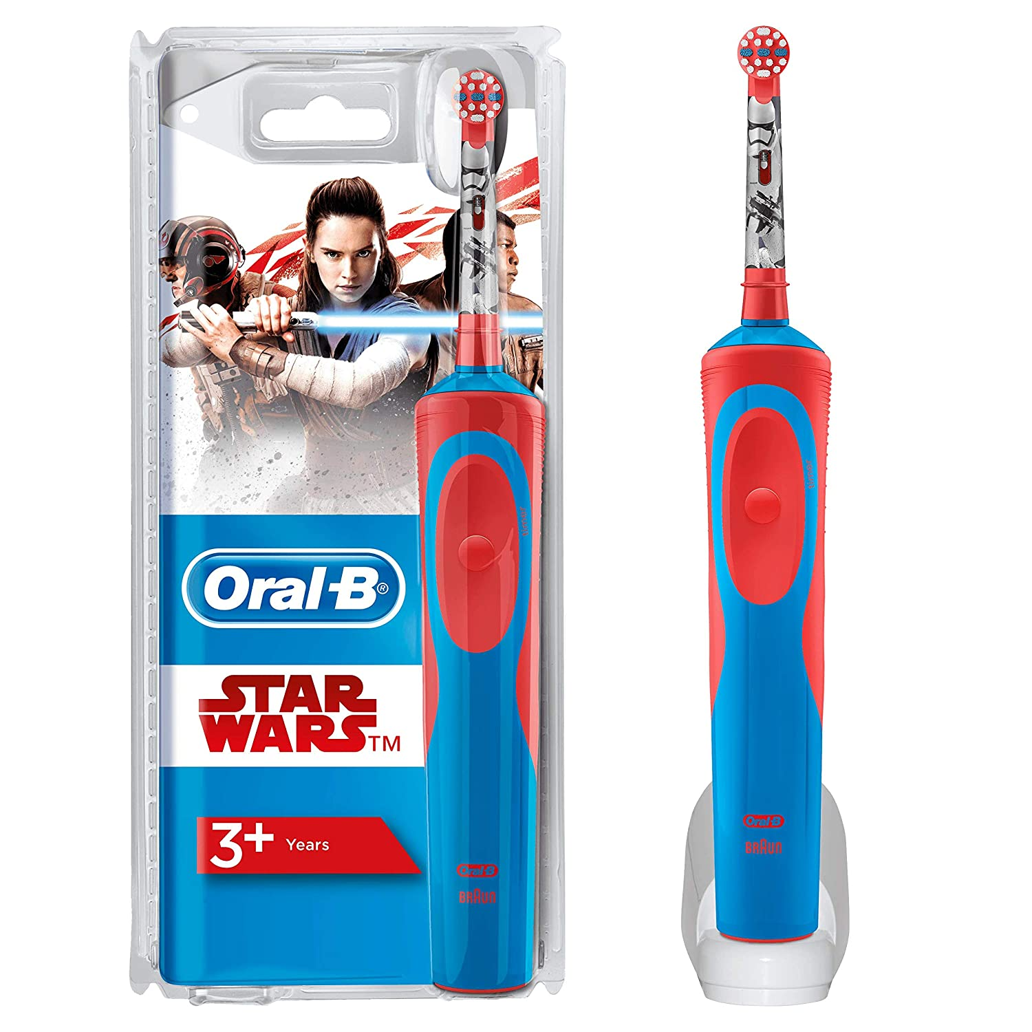Oral-B Stages Power Kids Electric Toothbrush Featuring Disney Star Wars by Oral-B: Amazon.es: Salud y cuidado personal