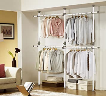 Amazing One Touch Double 2 Tier Adjustable Hanger | Prince Hanger | Holding  80kg(176LB)
