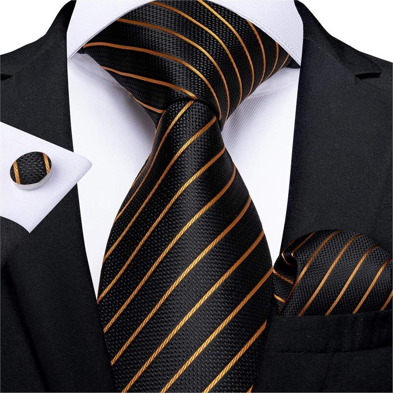 ESORST Corbata de Hombre Hombres Lazo de los Hombres Azules ...