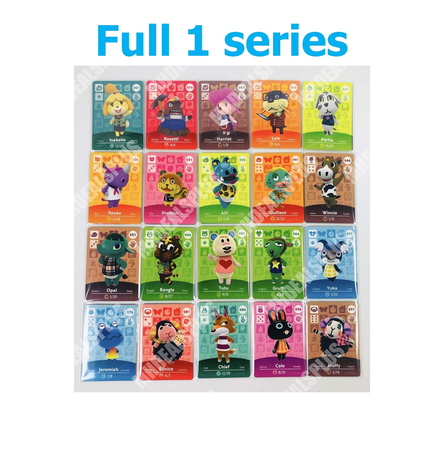 High Liked New Crossing 1-100 Cards Complete Set Series 1 US Version Quick Arrive
