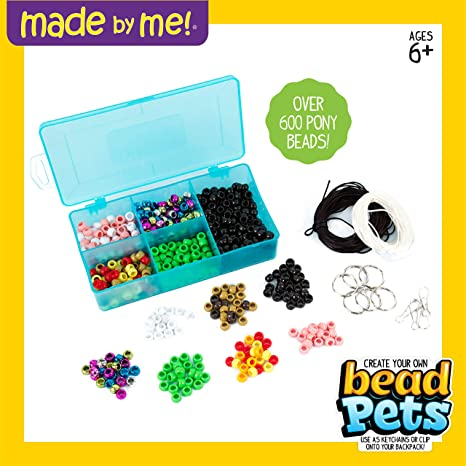 Amazon.com  Made By Me 765940513705 Create Your Own Bead Pets  Toys   Games 6e32b4c228