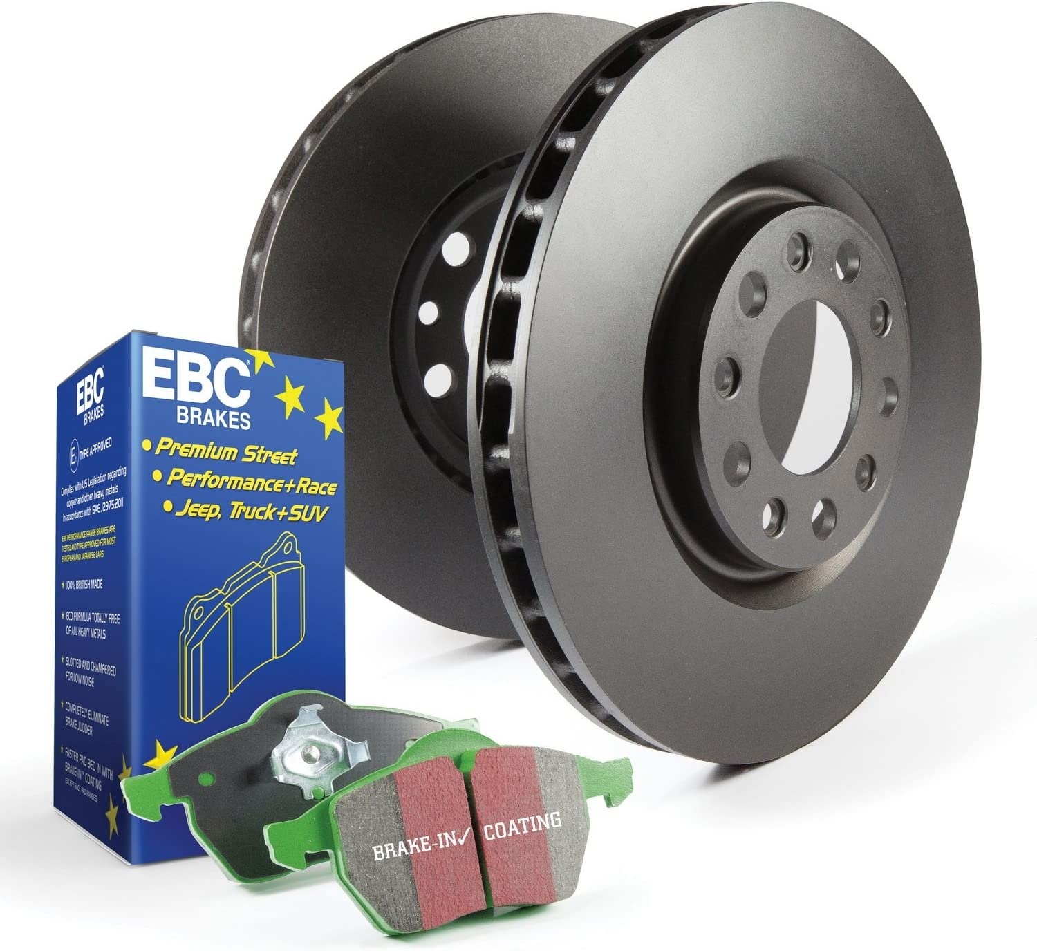 EBC Brakes S11KF1030 S11 Front Kits Greenstuff 2000 and RK Rotors