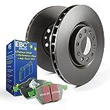 EBC Brakes S11KR1116 S11 Rear Kits Greenstuff 2000 and RK Rotors