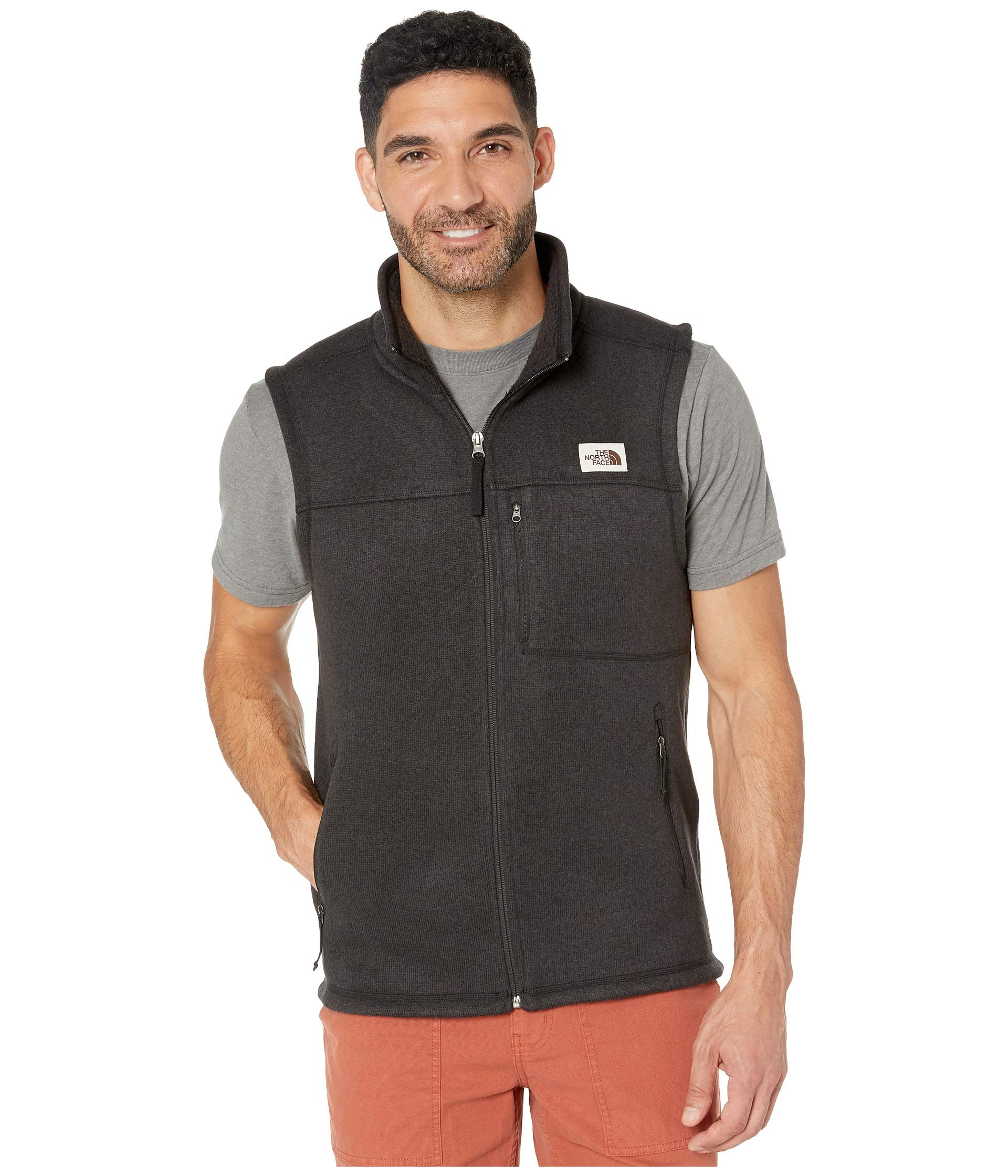 The North Face Men's Gordon Lyons Vest, TNF Black Heather, XXL by The North Face