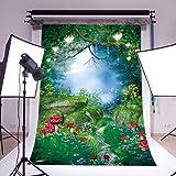LOVE-BABY Thin Vinyl Fairytale Photography Background Photo Backdrops Dreamlike Theme Photography Studio background Props for Studio 5x7ft/150x210cm