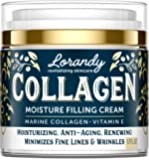 Collagen Cream - Anti-Aging Face Moisturizer for Women - Made in USA - Day & Night Moisturizer for Face - Marine…