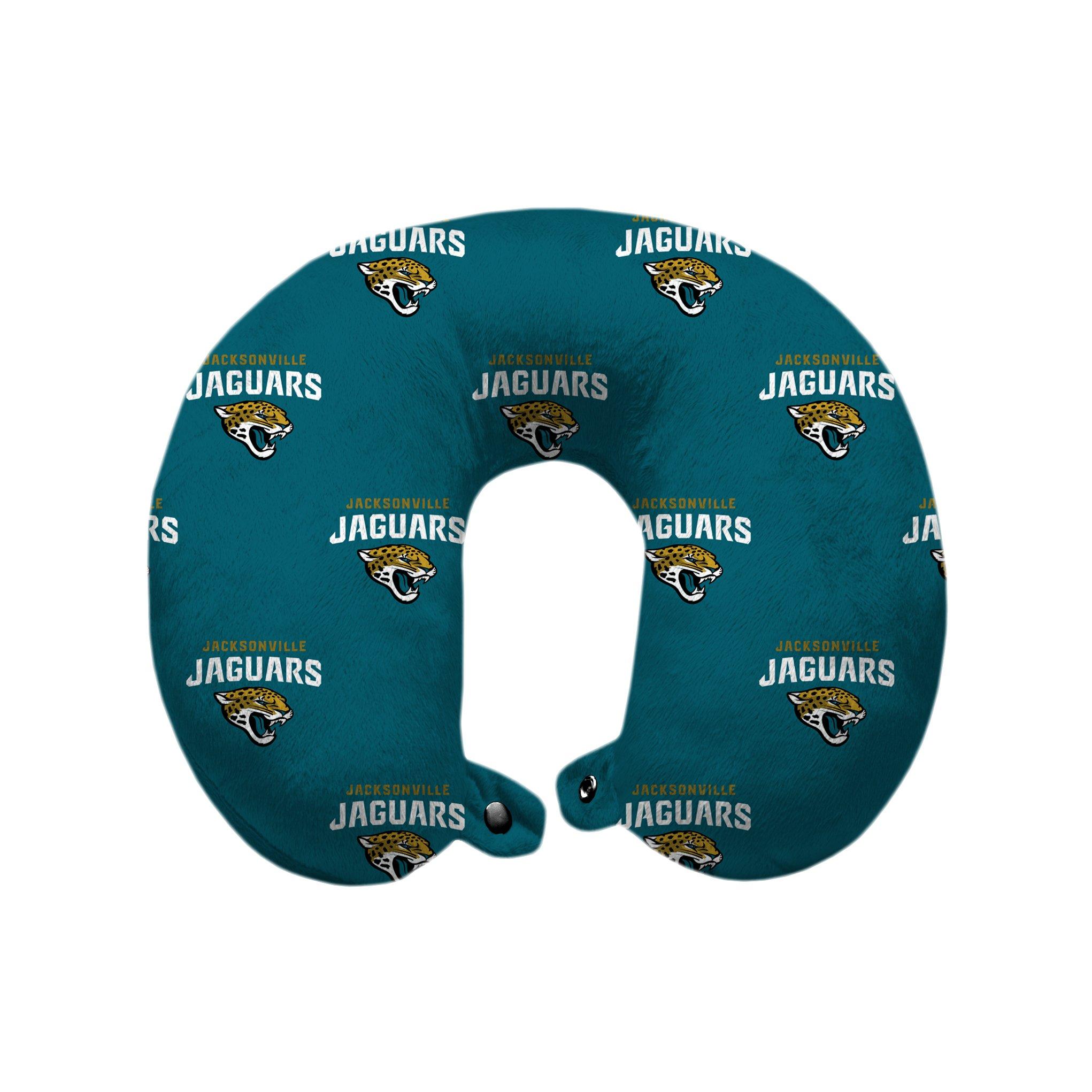 Pegasus Sports NFL Jacksonville Jaguars U-Neck Polyester Travel Pillow by Pegasus Sports
