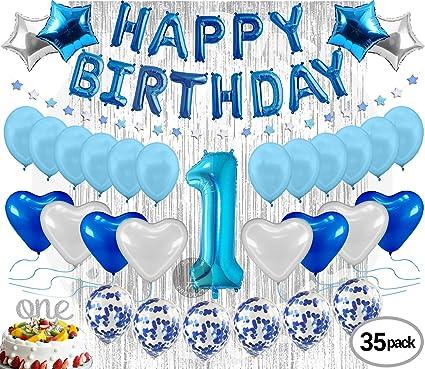 Amazon.com: Paris Products Co. decoraciones de cumpleaños ...