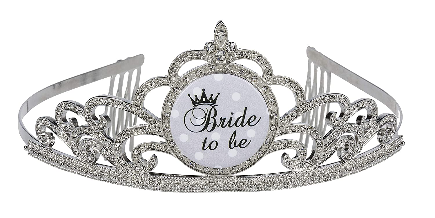 Ganz Bachelorette Party Wedding Tiara - Bride To Be
