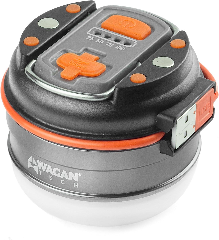 Wagan Brite Nite Camplites POP-UP USB Lantern Flashlight CREE LED 240 Lumens