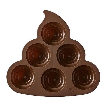 ROSANNA PANSINO By Wilton Silicone Poop Emoji Cake Pan