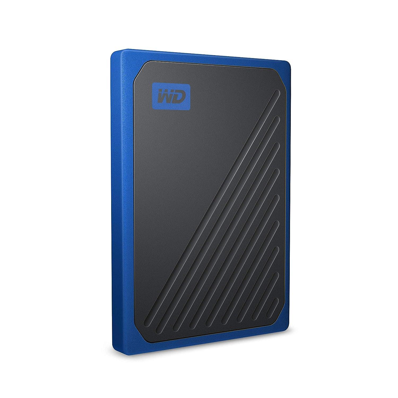 500 GB WD My Passport Go SSD Portatile Bordo Blu Cobalto