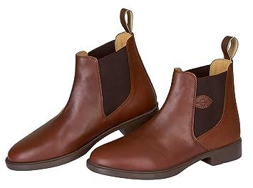 Covalliero Reitstiefelette Leder Classic, Schuhgrösse 41, braun