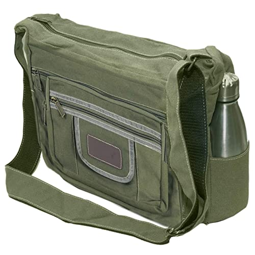 f8b7db0975df NISUN Sling Cross Body Bag Messenger Bag One Side Bag For Men Women Olive   Amazon.in  Shoes   Handbags